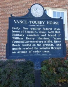 Vance-Tousey House